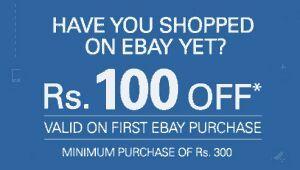 Ebay new users offer