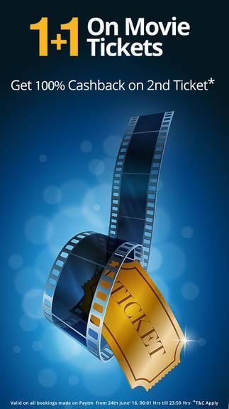 PayTm Movie Ticket Offer