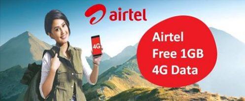 Airtel Internet Loot Get Upto 10 GB 4G Data Absolutely Free