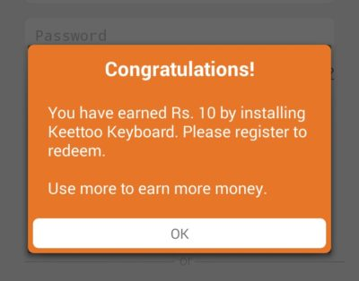 (Loot) Keettoo Keyboard App – Get Rs 10 Free Mobikwik Cash on Sign up