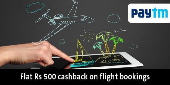 Paytm FLY3K555 Flight Booking Offer