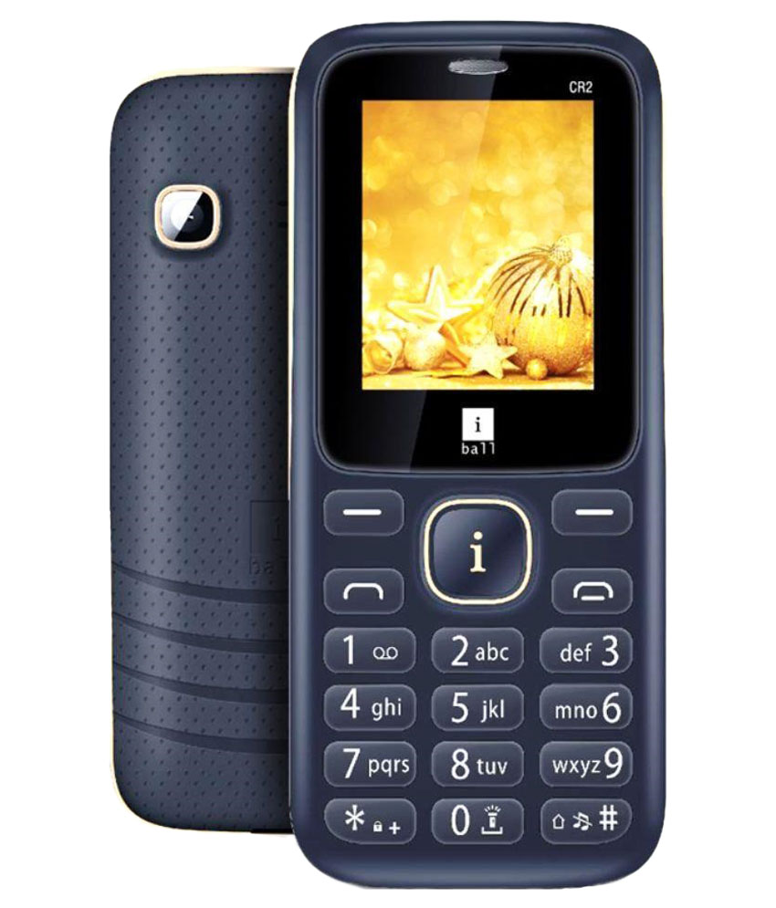 Snapdeal – Buy iBall CR2 Feature Phone At Rs 745 Only (Black & Golden)