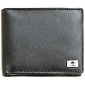 Am Leather Black Men's Wallet Rs 290 - Amazon