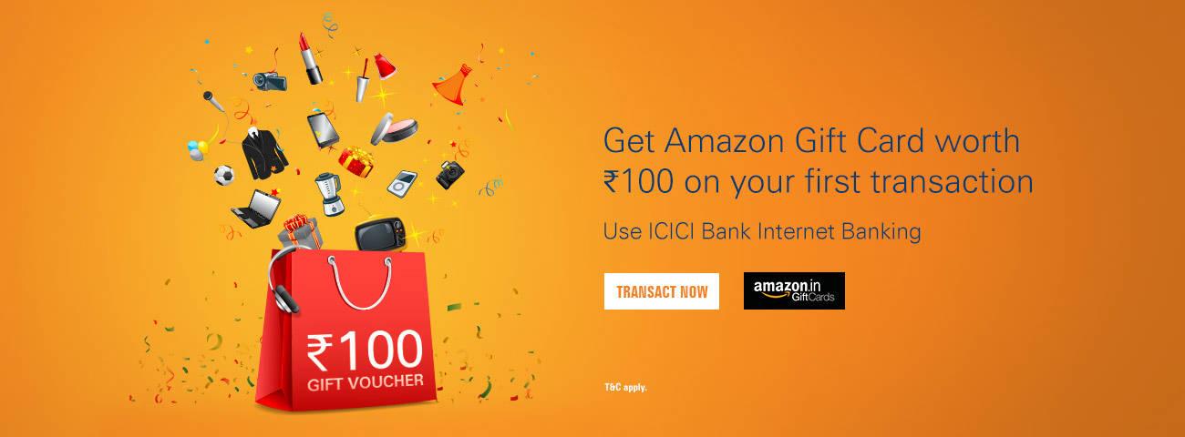 Free Amazon Rs 100 Voucher