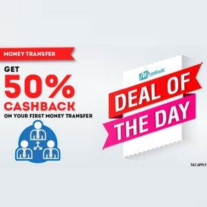 Get First MobiKwik Wallet Balance Transfer Offer 50%CashBack -Mobikwik