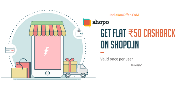 [Loot] Get Rs 50 Cashback On Rs 100 With Freecharge Wallet - Shopo.in