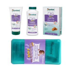 Himalaya Baby Gift Combo in Microwave Box Pack Of 3 At Rs 135 Only