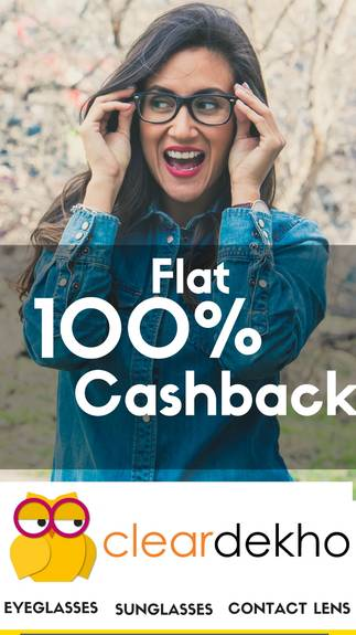 Buy Products From ClearDekho & Get 100% CashBack From Paytm
