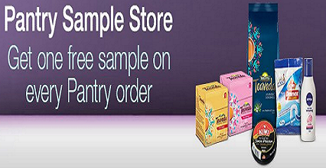 Amazon Pantry Free Sample On Every Order (Hyderabad Users)