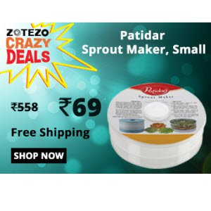 Patidar Healthy Sprout Maker 1800ml At Rs 69 Only - Zotezo