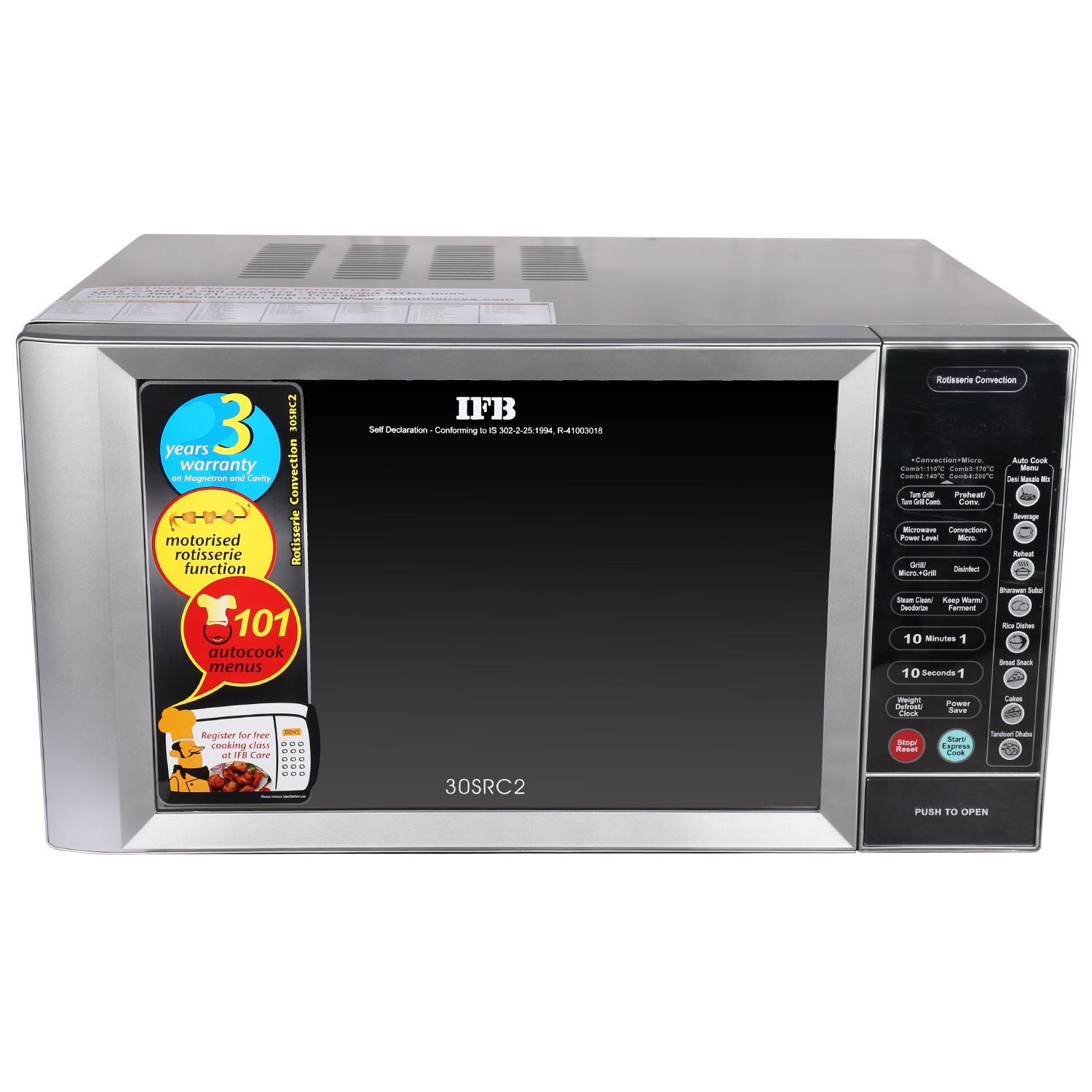 Loot Ifb 30 Litre Rotisserie Convection Microwave Oven