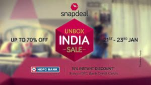 Snapdeal unbox
