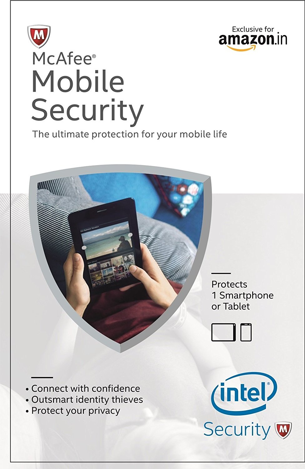McAfee Mobile Security 1 Device 1 Year Product Key (Voucher) At Rs 86 - Amazon