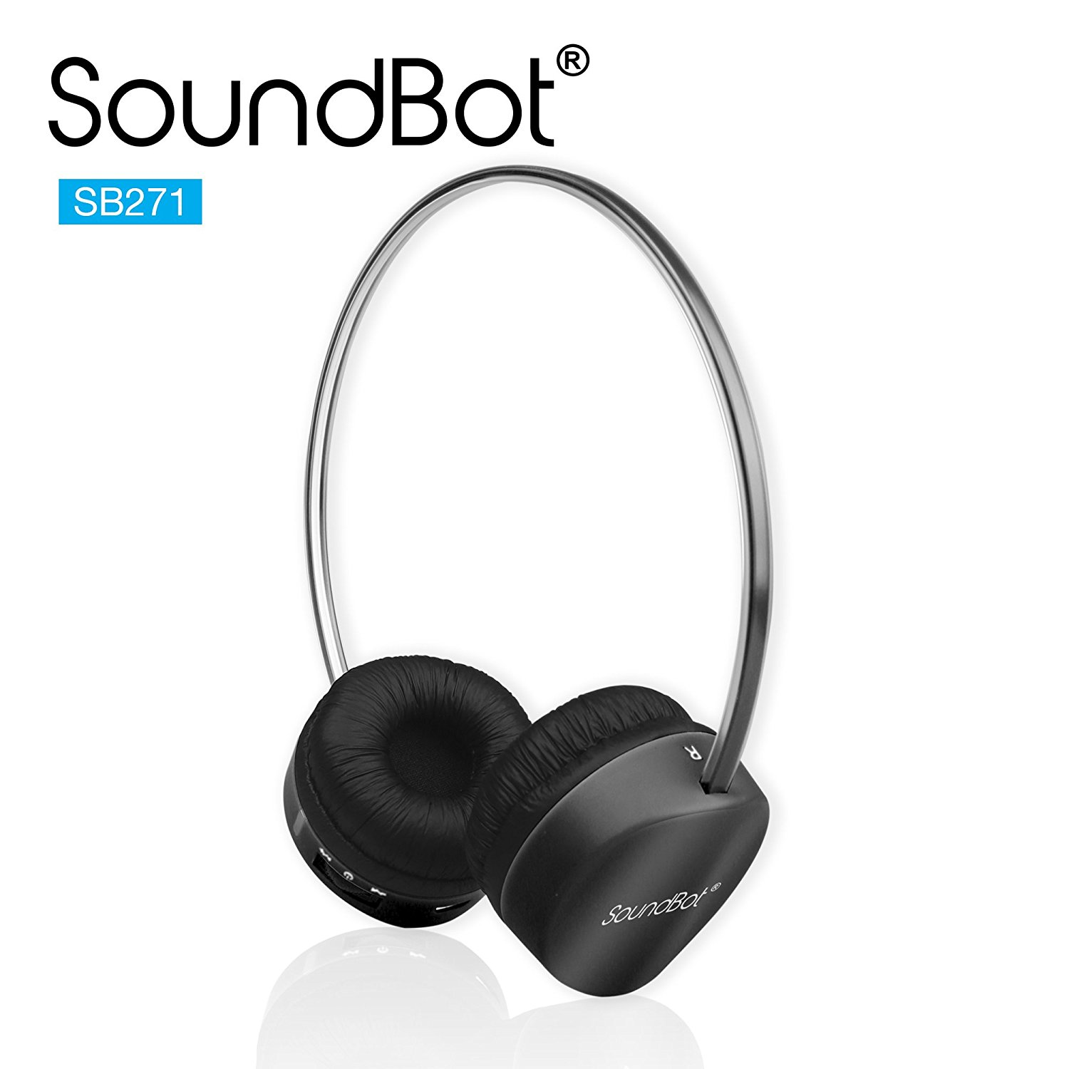(Loot)SoundBot SB271 Stereo Bluetooth 4.1 Wireless Headphone At Rs 1299 - Amazon