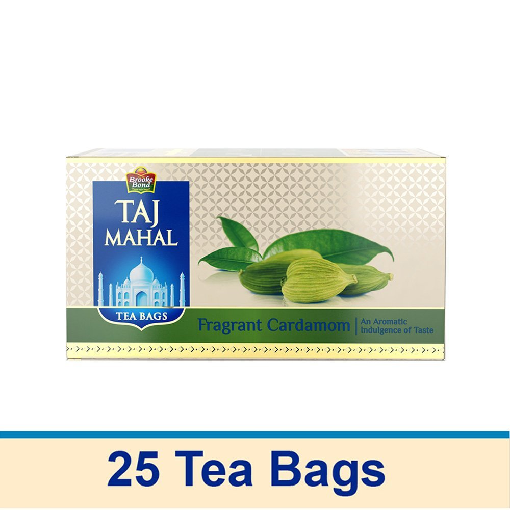 Taj Mahal Fragrant Cardamom Tea Bags 25 Pieces At Rs 105 Only - Amazon