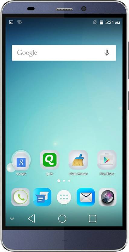 Micromax Canvas Mega 4G (Blue, 16 GB) At Rs 6999 - Flipkart