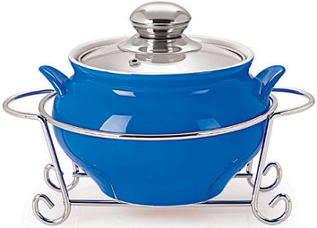 Cello Prego GUSTO HANDI CASSEROLE WITH METAL STAND 1000 ml At Rs 432 Only - Amazon