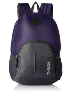 American Tourister 20 Ltrs Purple Small Casual Backpack