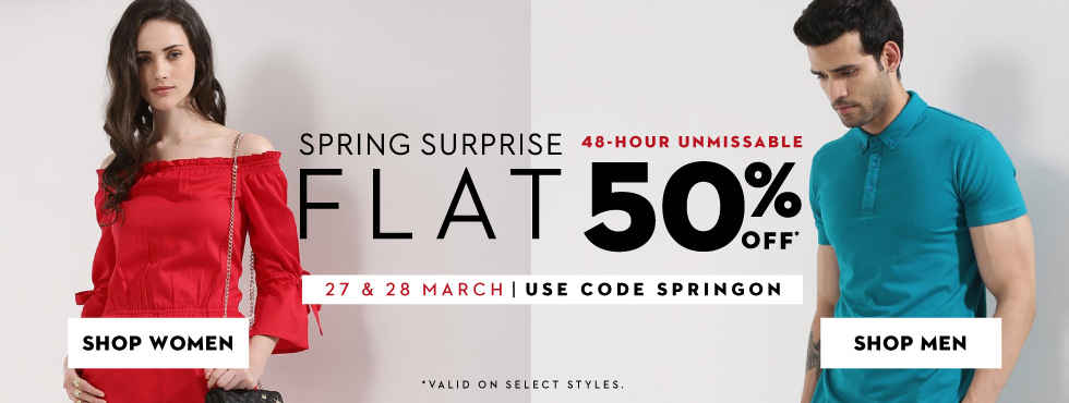 UNMISSABLE SPRING SURPRISE