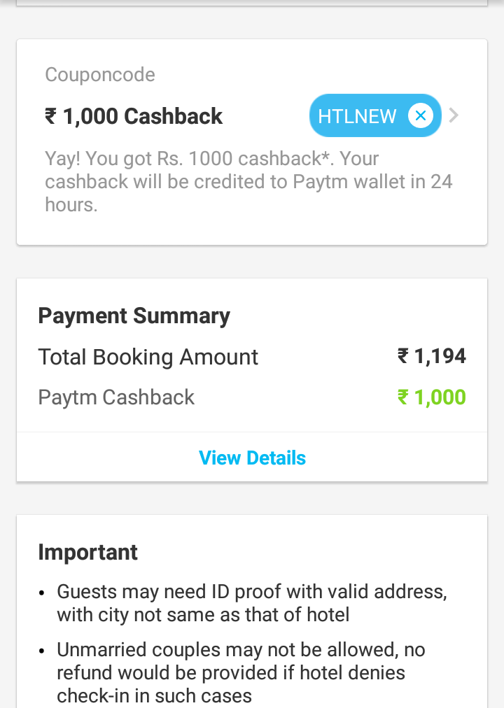 Hotel Booking Offers