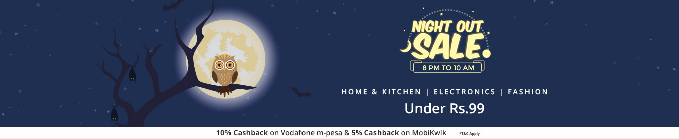 Shopclues NightOut Sale