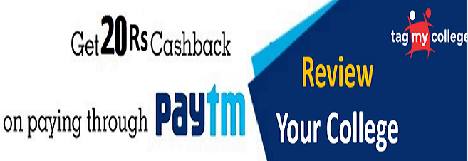 TagMyCollege - Give Review Your College & Get Free Rs 20 Paytm Cash