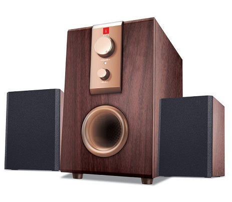 iBall Rhythm 69 2.1 Channel Multimedia Speakers At Rs 835 - Amazon