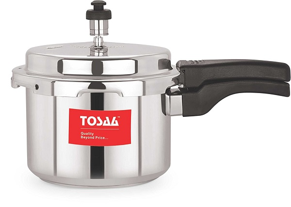 Tosaa Ultra Delux Aluminium Pressure Cooker 3 Litres At Rs 567 Only - Amazon