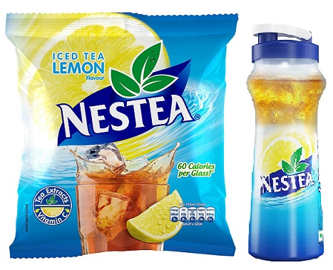 Nestea Iced Tea Lemon 400g with Free Sipper 1L At Rs 112 Only - Amazon