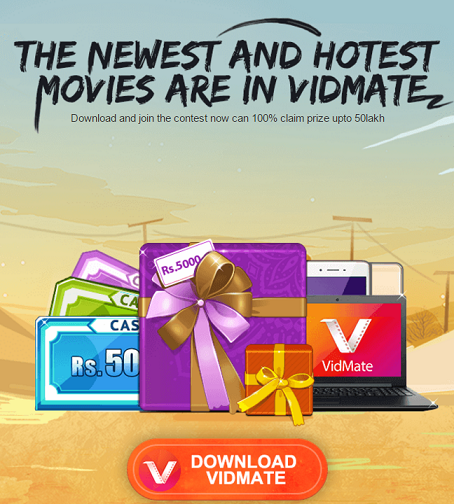 VidMate App Refer & Earn Loot - Refer Friends & Get Free Paytm Cash