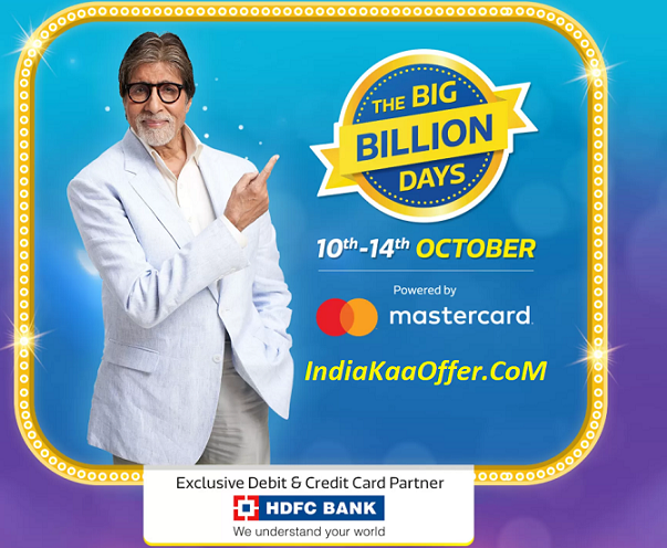 Flipkart Big Billion Days Sale 10-14 October 2018 Offers List