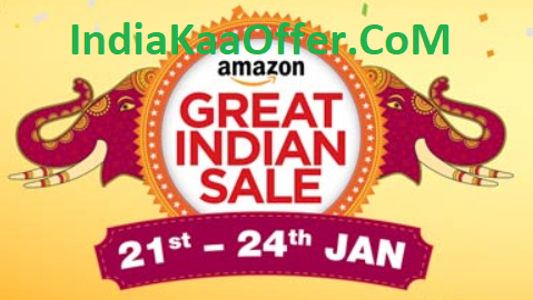 Amazon Great Indian Festival Sale 21-24 JAN 2018