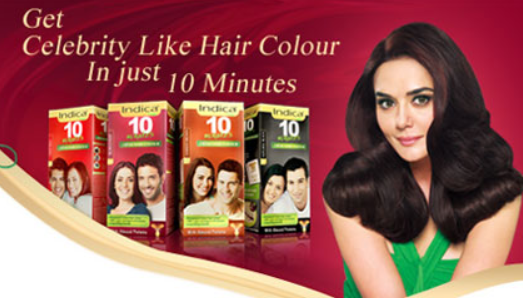 Indica Free Sample 10 Minutes Hair Colour