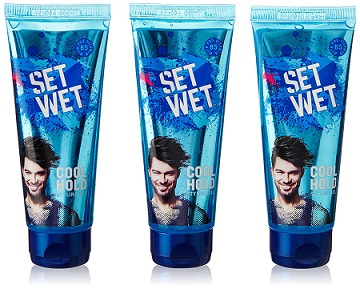 Set Wet Cool Hold Hair Cream 100ml (Pack of 3) At Rs 180 on Amazon