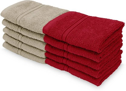 Swiss-Republic Bath Towels Pack of 10 At Rs 249 Only