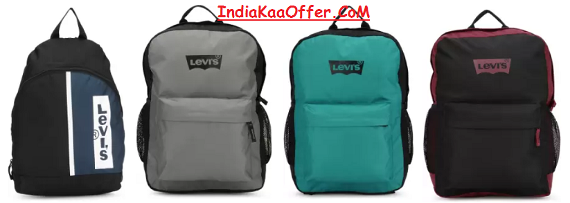 Levis Backpacks Loot Starting At Just Rs 391 Only on Flipkart