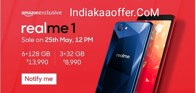 Oppo Realme 1 Smartphone Price in India