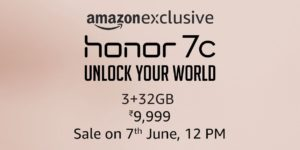 Honor 7C Next Sale Date, Trick & Buy At Rs 9,999 only on Amazon