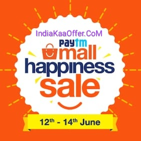Paytmmall HAPPY300 Rs 300 cashback offer - Get Rs 300 Cashback on Min. Shopping of Rs 999 (All Users)