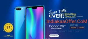 31 July Honor 9N Flash Sale Loot