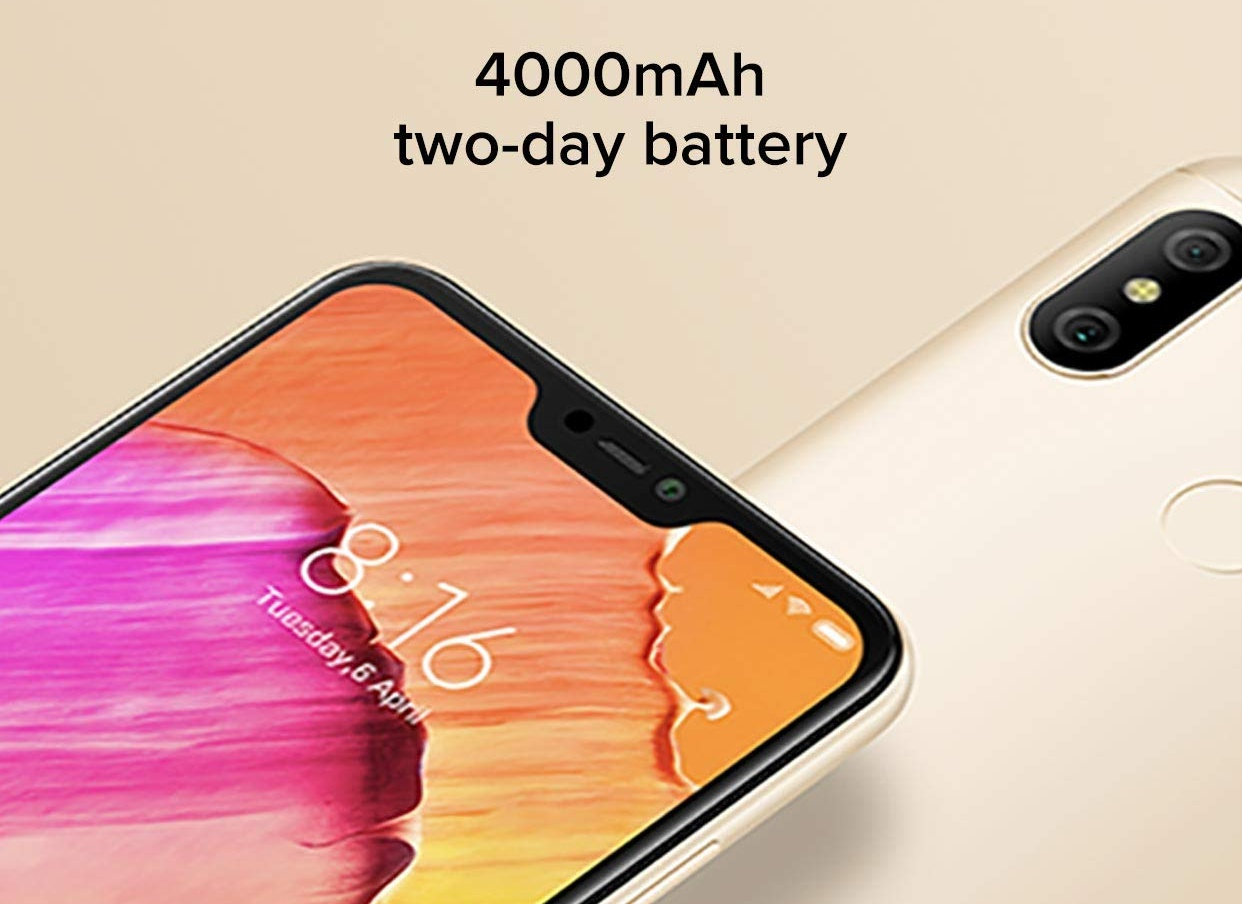 Xiaomi Redmi 6 Pro next sale 11th September, 2018