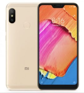 Xiaomi Redmi 6 Pro next sale date on 09th, October 2018