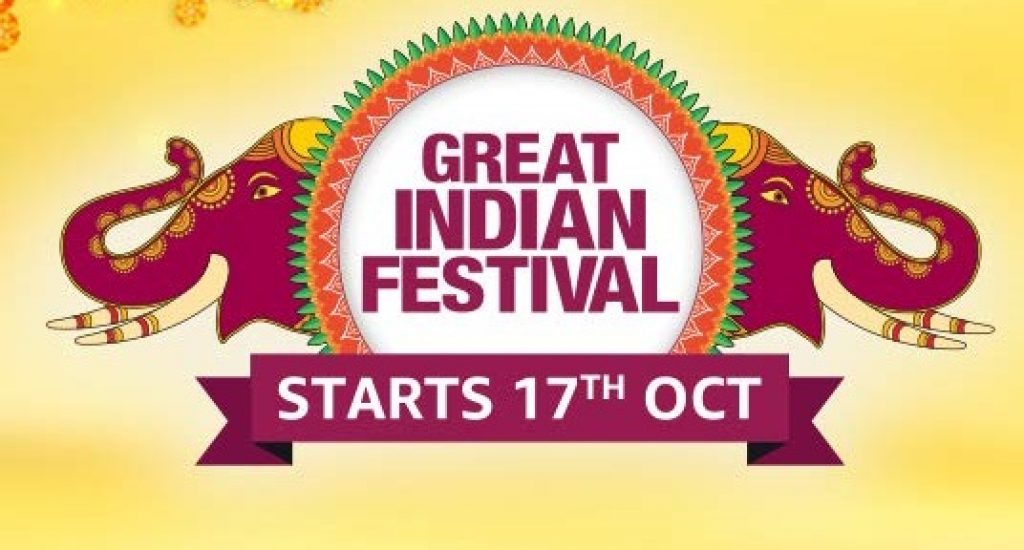 Amazon Great Indian Festival Sale From 17 October 2020