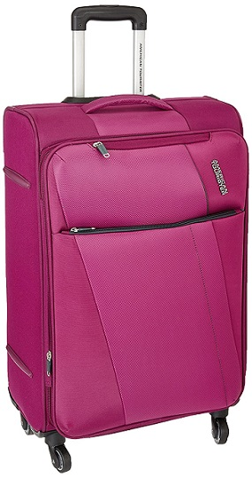 American Tourister Michigan Polyester 57 cms Magenta Carry-On At Rs 2299 Only (74% off)