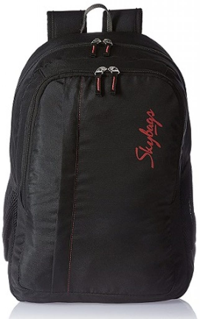 Skybags 48 cms Black Casual Backpack